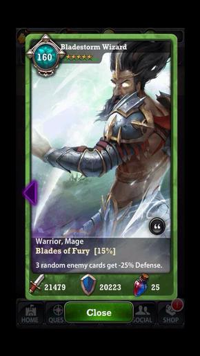 Bladestorm Wizard 160