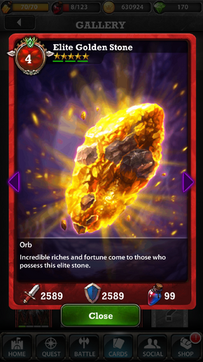 Elite Golden Stone 4