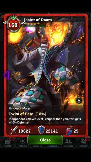 Jester Of Doom 160