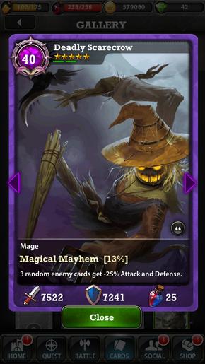 Deadly Scarecrow 40