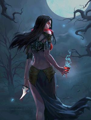 Blood Priestess (2)
