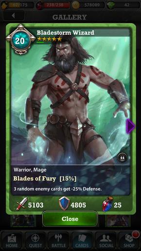 Bladestorm Wizard 20