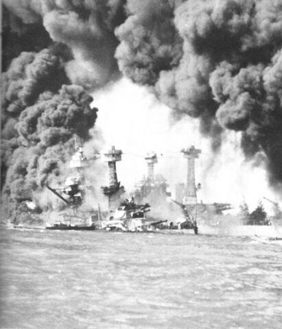 File:Burning ships at Pearl Harbor.jpg