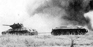 Sovietic T34 battle of kursk