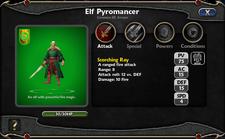 Elf Pyromancer Details