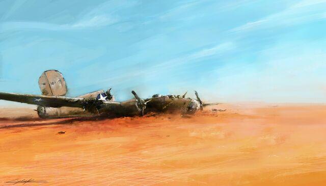 File:World war 2 lady be good lost in desert by vitoss-d73xmfu.jpg