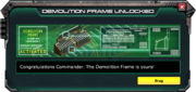 DemolitionFram-UnlockMessage