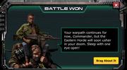 Enemy spotted eastern horder battle won 2