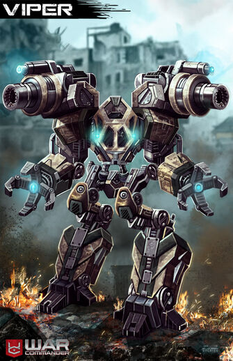 Wc viper mech by mr donkeygoat-d6v76l9