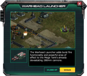 Warhead Launcher - EventShopDiscription