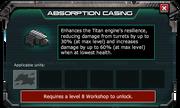 AbsorptionCasing-GearStoreDescription