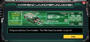 Warhead Launcher-UnlocedkMessage