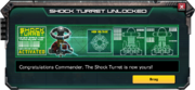 Shock turret unlocked