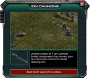IonCannons-EventShop Description