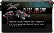Elite-Unique-Weekend-Message