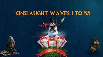 War Commander Winter Onslaught Waves 1 to 55 Dec 2015