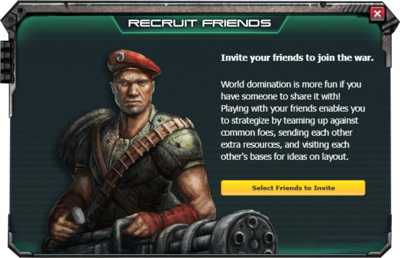Recruit friends