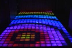 Xenon dance floor