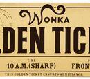 Willy Wonka's Golden Tickets