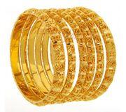 Gold bangles 1