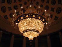 Chandelier in US Capitol Building