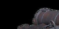 Black Barts Kanone