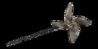 Alfred Hitchcock's Metal Pinwheel