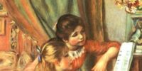 Artifacts/Warehouse 14/Pierre-Auguste Renoir's Painting of Two Girls Playing the Piano