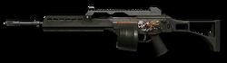 H&K MG36 Anti-Cyborg Render