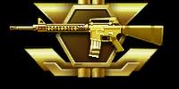 M16A3 Gold