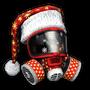 Christmas Helmet Medic Render