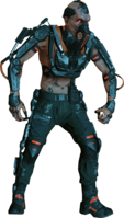 Screamer Cyborg