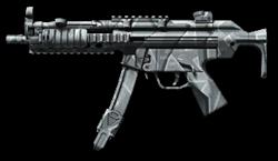 H&K MP5 Winter Camo Render