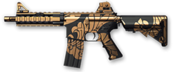 M4 CQB Black Dragon Render