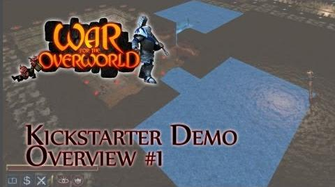 War for the Overworld Kickstarter Demo Overview