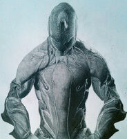 Warframe drawing excalibur by charlie