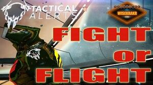 Warframe Operations - TACTICAL ALERT FIGHT OR FLIGHT Archwing