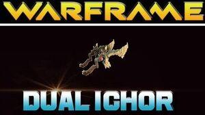 Warframe Dual Ichor Boss kills and Review
