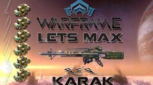 Lets Max (Warframe) E32 - Karak + 75 Platinum Giveaway (Complete)