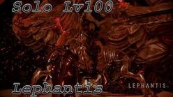 WARFRAME solo lv 100 Lephantis with builds