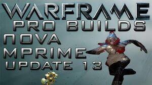 Warframe Nova Pro Builds 1 Forma Update 13.5