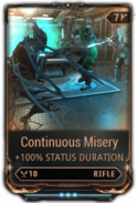 Continuous Misery