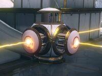 Orokin laser trap spinning