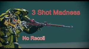 Vulkar Riven Mod Stabilized 3 Shot Monster
