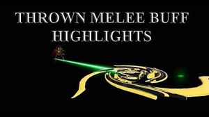 WARFRAME - Thrown Melee Buff Highlights Zakti Glaive Prime