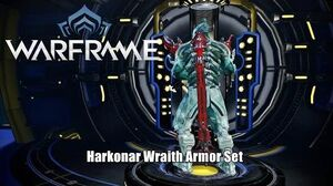 Warframe Harkonar Wraith Armor Set (Operation Pacifism Defect Rewards)