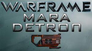 Warframe Mara Detron Update 15.6