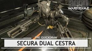 Warframe Syndicates Secura Dual Cestra, An Extra Two Inches thequickdraw