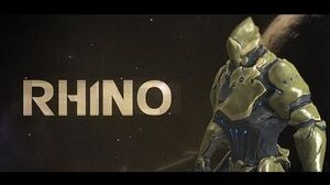 Warframe Profile - Rhino