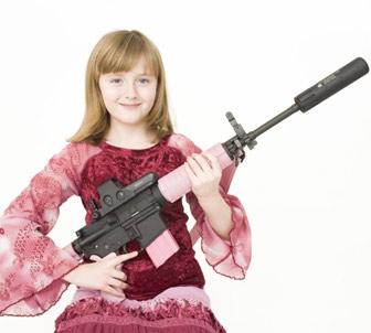 Guns girl